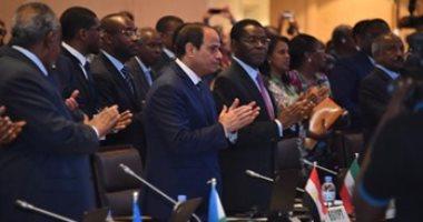 مصادر دبلوماسية: القادة الأفارقة يوافقون على رئاسة مصر للاتحاد الإفريقى 2019