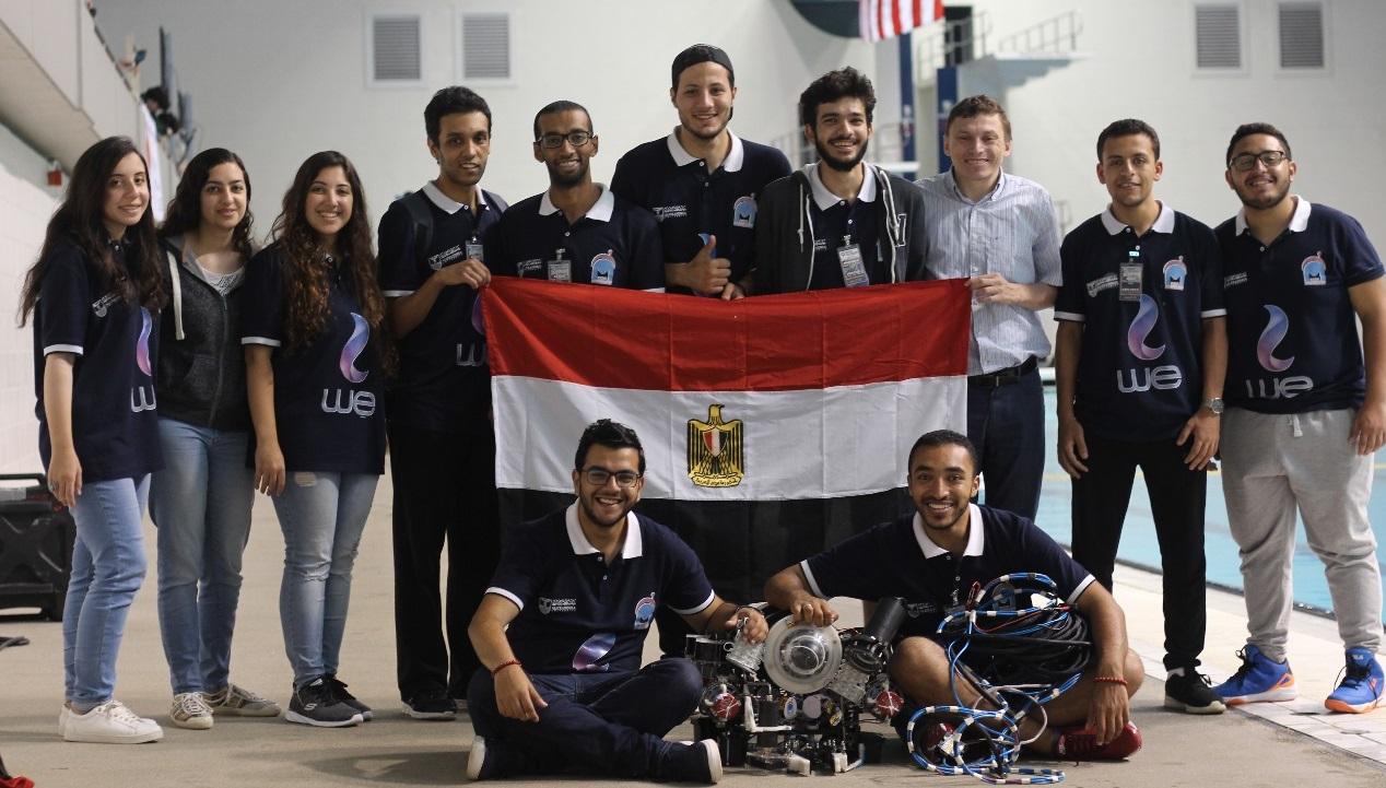 برعاية we فوز مصر بالمركزين الأول والثالث في نهائيات مسابقة ROV الدولية بالولايات المتحدة الأمريكية