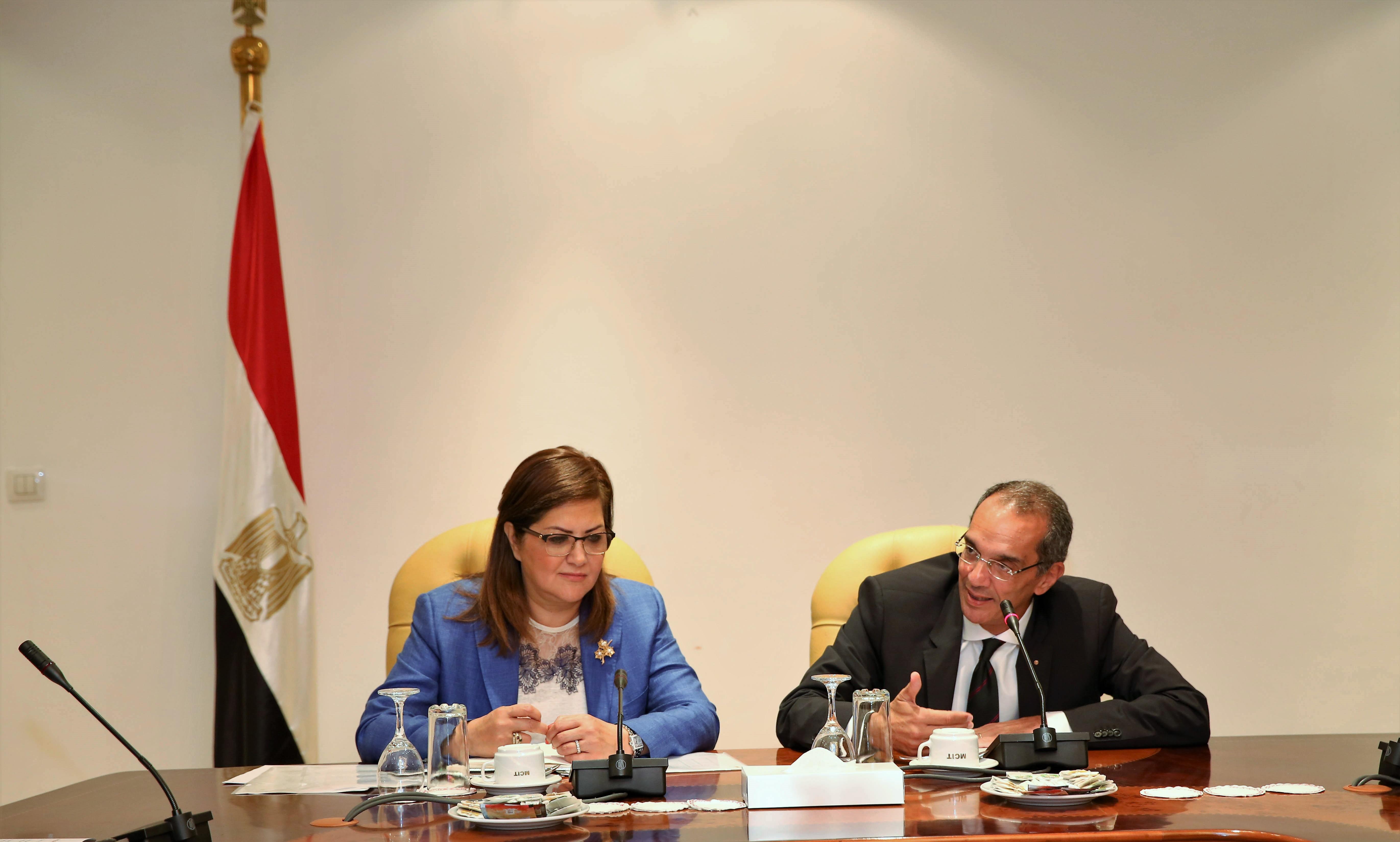 تعاون مشترك بين وزارة التخطيط ووزارة الاتصالات للمساهمة في تطوير العمل الحكومي و تقديم الخدمات الحكومية للمواطنين