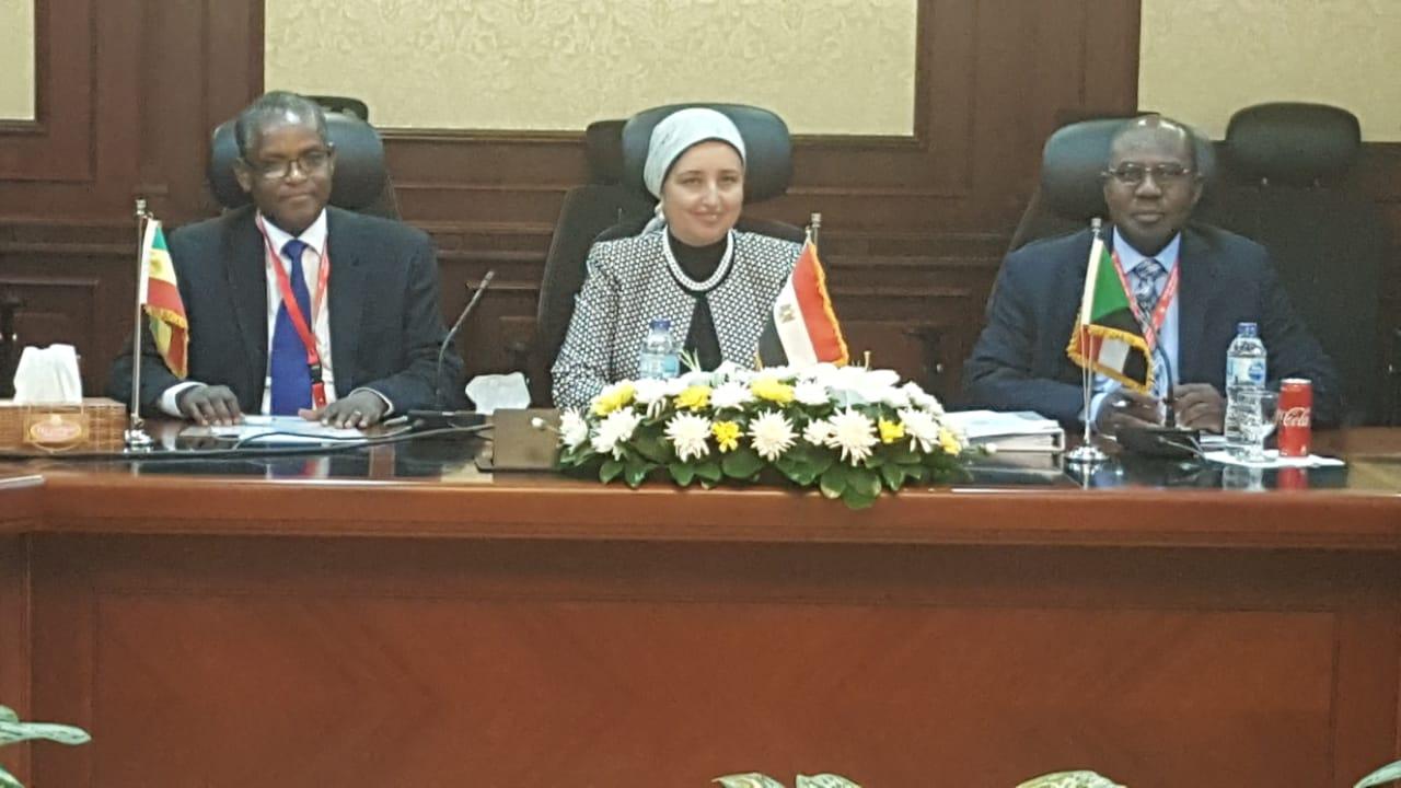 إنشاء صندوق ثلاثي الأطراف لتمويل المشروعات التنموية والاستثمارية  في كل من مصر وأثيوبيا والسودان