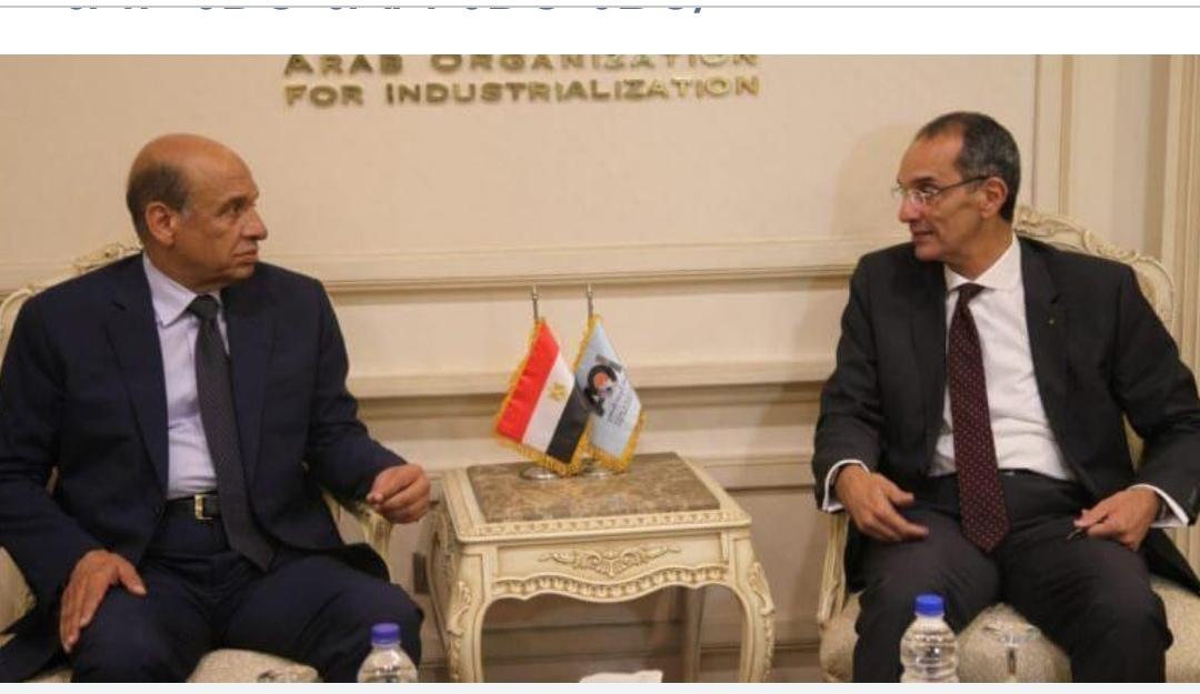 الهيئة العربية للتصنيع تبحث  صناعة  التابلت التعليمي  مع  وزارة الاتصالات