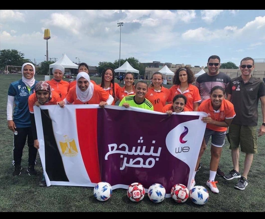 إنجاز كبير لمنتخب كرة القدم النسائية الموحدة مصر تحصد برونزية كأس العالم الموحدة برعاية المصرية للاتصالات