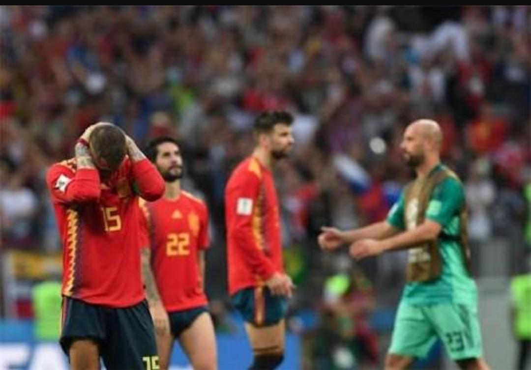 بعد انتصارها على أسبانيا روسيا تنتقل إلى دور ال 8