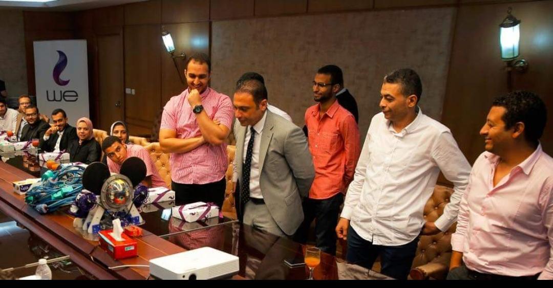 المصرية للاتصالات WE تكرم الفرق الفائزة بالمسابقة الدولية للغواصات الآلية ROV
