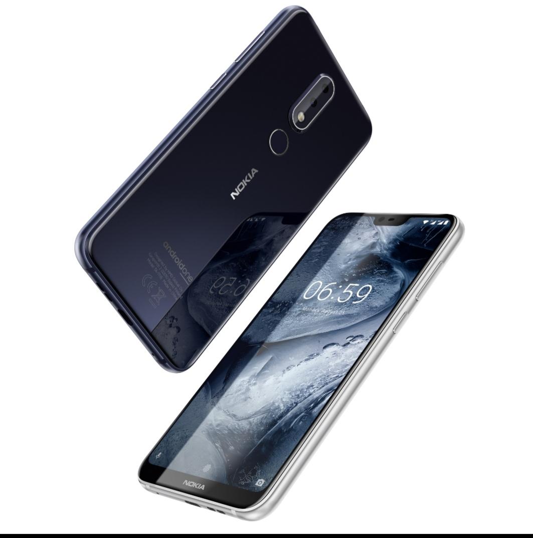 الهاتف الذكي 6.1 بلس  Nokia 6.1 Plusيوفر تصميم الشاشة المتكامل الأكثر شعبية والأداء المتفوق في مصر