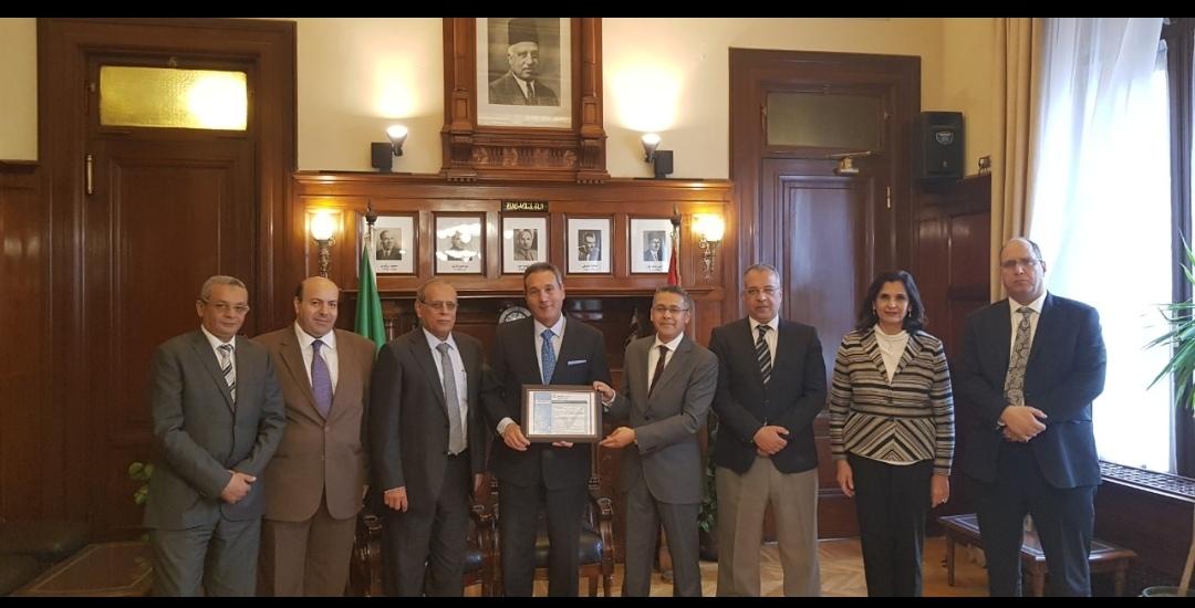 بنك مصر يحصل على شهادة التوافق مع المعايير العالمية لتأمين بطاقات الدفع الالكترونية PCI - DSS بأحدث اصداراتها