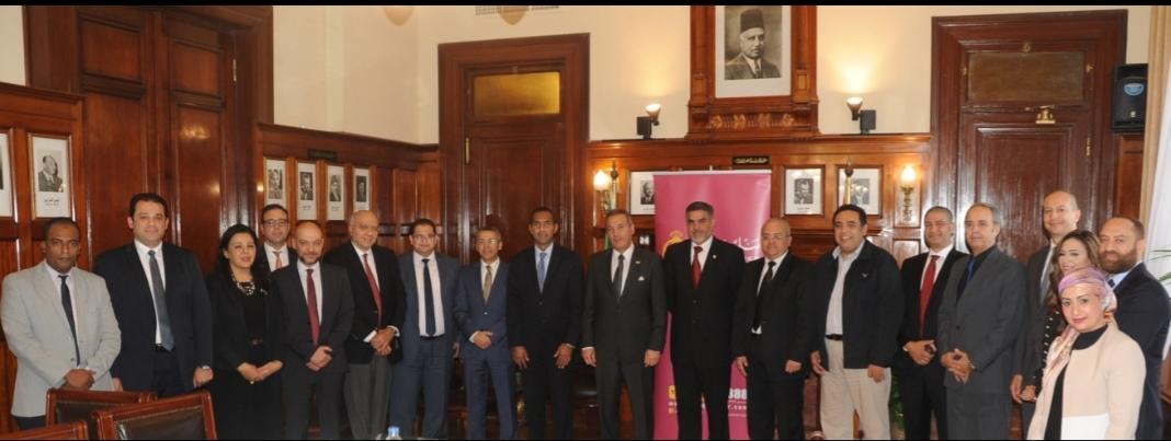 بنك مصر يوقع برتوكول تعاون مع جمعية الصناع المصريون