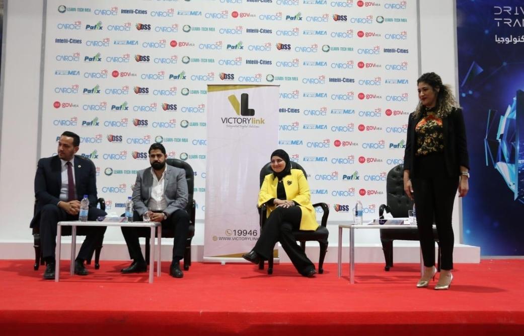 للعام الثاني على التوالي  فيكتوري لينك تشارك في فعاليات معرض ومؤتمرCairo ICT 2018