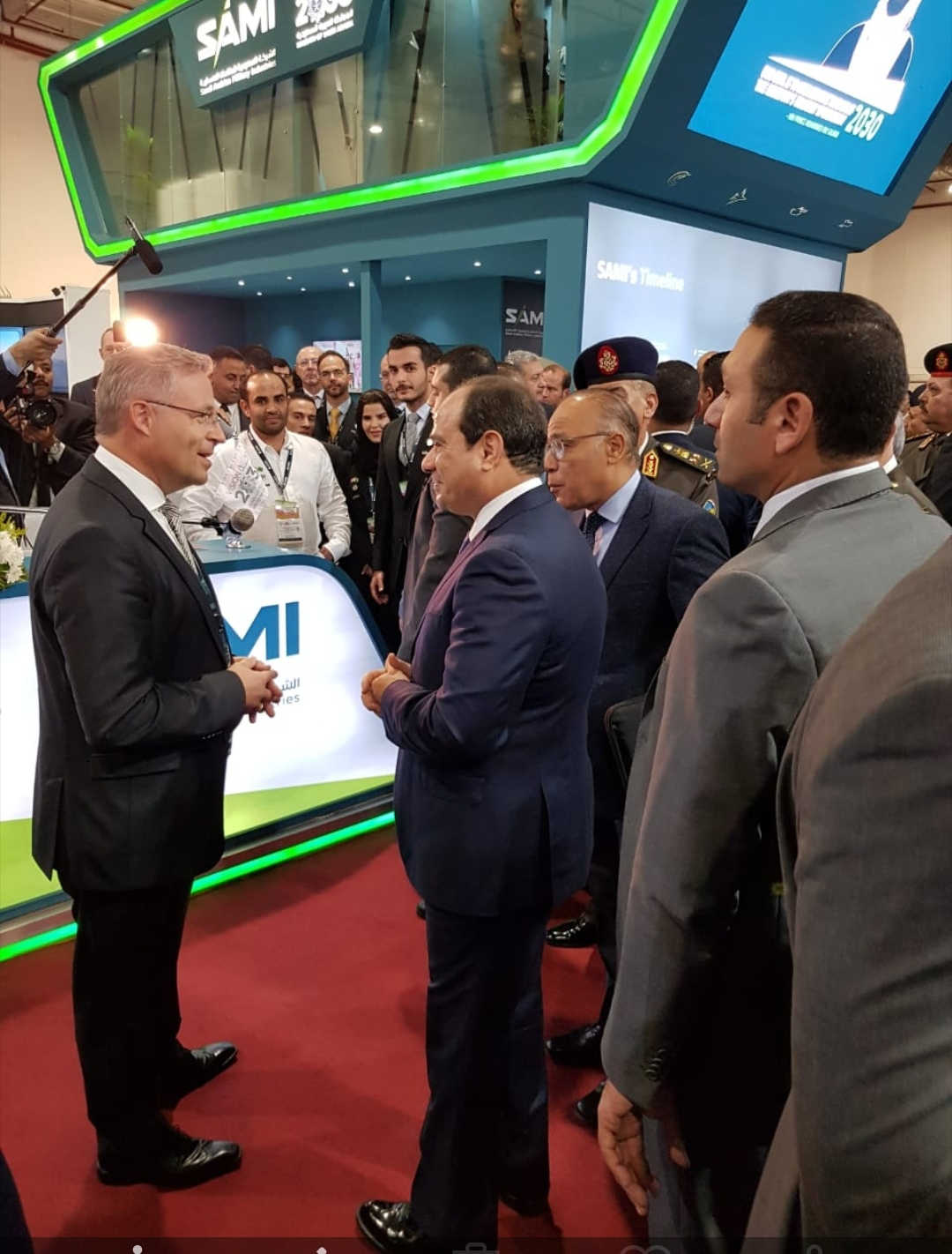 الشركة السعودية للصناعات العسكرية تستعرض فرص التعاون في السوق المصرية خلال مشاركتها في معرض