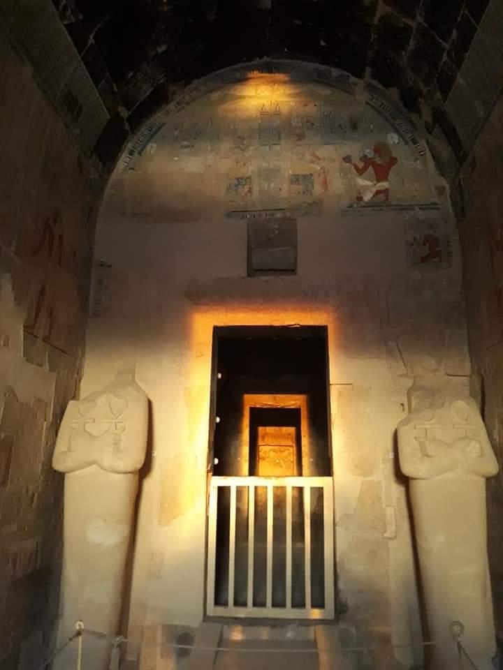 أثريون يرصدون ظاهرة تعامد الشمس على معبد حتشبسوت للعام الرابع