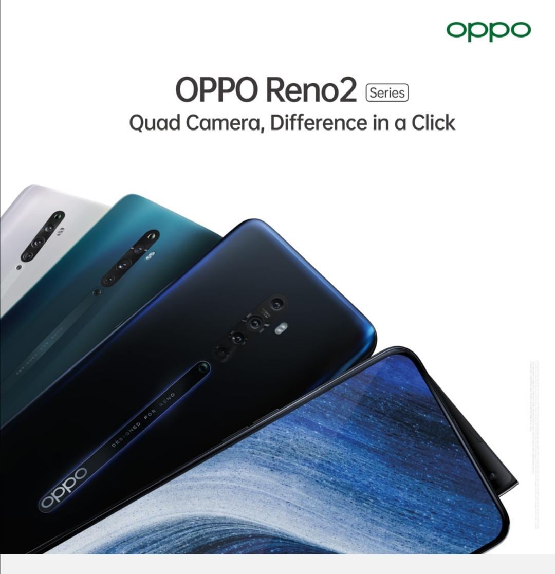 OPPO ترتقي بآفاق التصوير عبر المحمول بإطلاق سلسلة هواتف Reno2 المزودة بأربع كاميرات