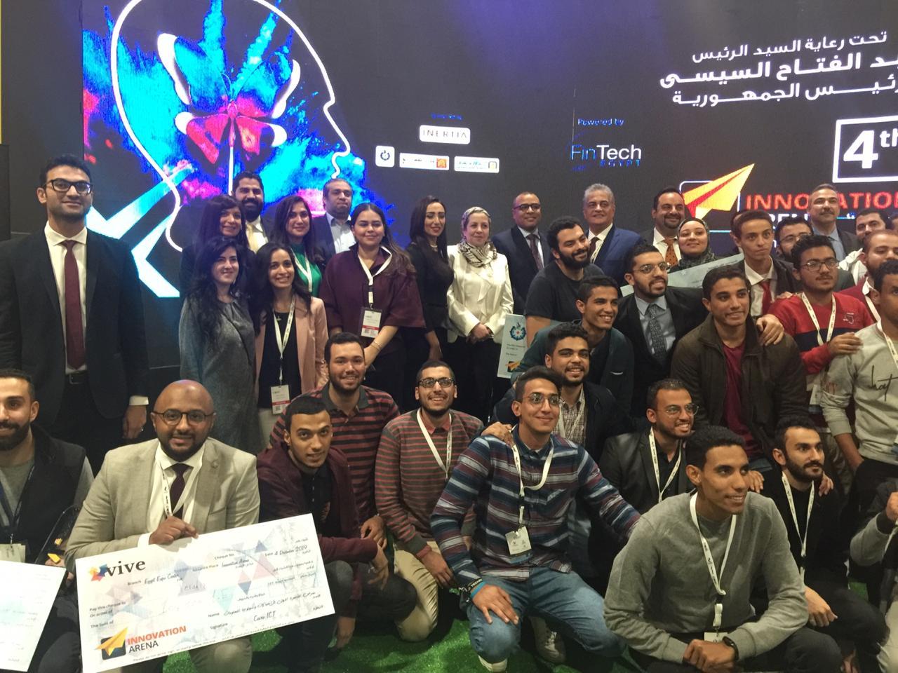 في ختام cairo ict 2019.. إعلان الفائزين في مسابقة أفضل المشروعات الناشئة بملتقى الابتكار «Innovation Arena»