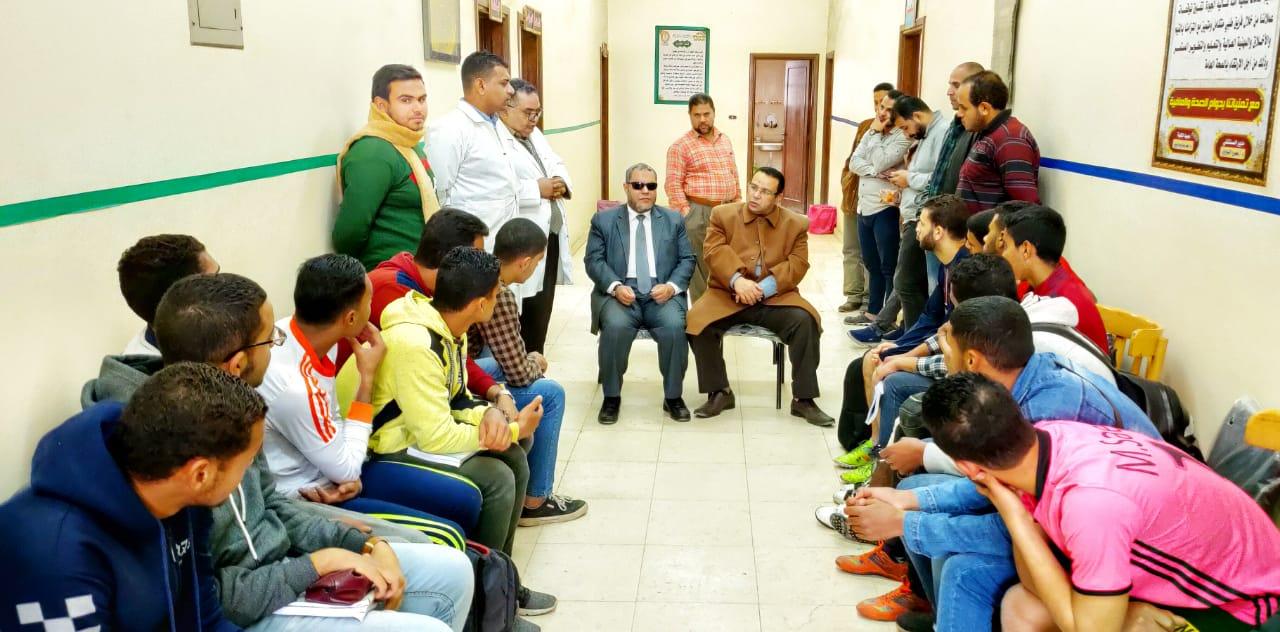 طلاب أزهريون  بكلية اصول الدين  بالزقازيق تنظم  دورة التأهيل