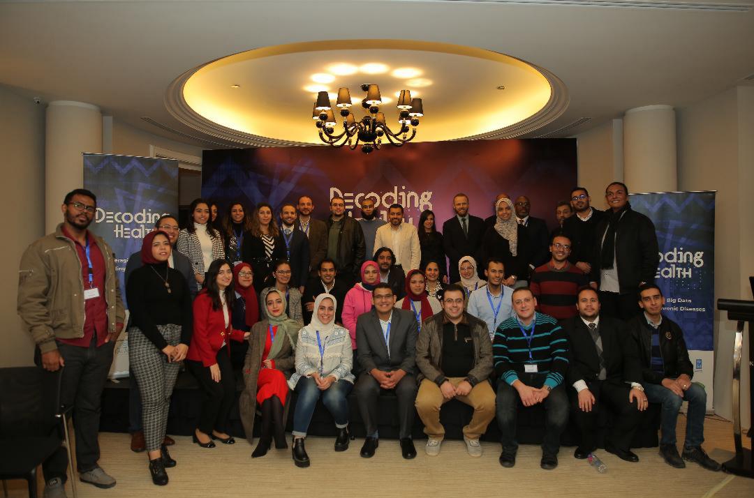 اتصالاتمصر تدعم مسابقةDecoding Health Challengeوتحتفل بالفرق الفائزة
