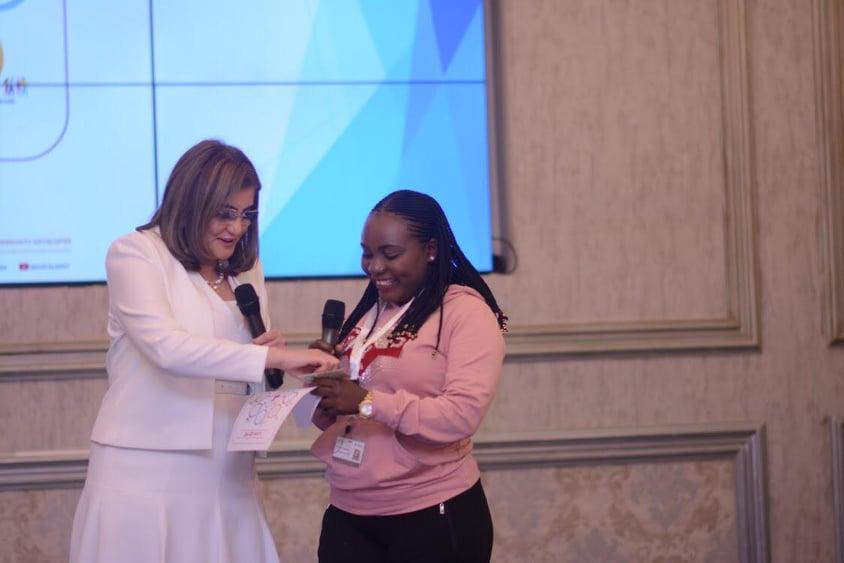 نور الزيني تشارك في تدريب 100 قيادة نسائية أفريقية بالمعهد القومي للإدارة