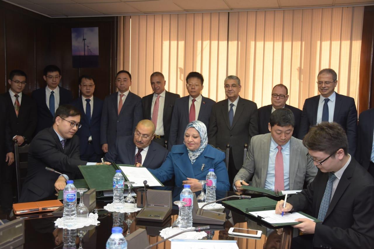 توقيع عقد مشروع تطوير التحكم الاقليمى للقاهرة الكبرى  مع الشركة المصرية لنقل الكهرباء*
