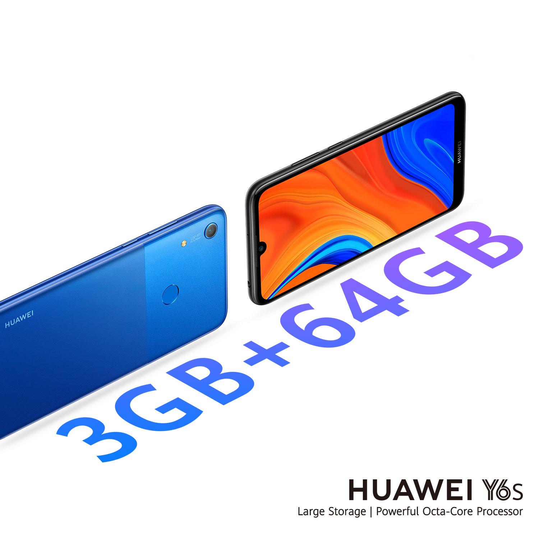 هواوي تطلقهاتفHUAWEI Y6sالجديد في السوق المصري ليقدم تجربةفريدة لمستخدميهبمساحة تخزينية 64 جيجابايت