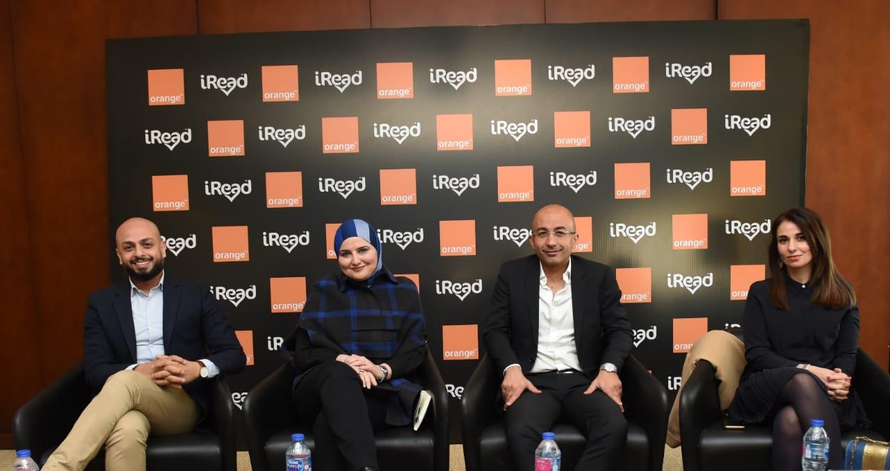 تعاون بين iRead واورنچ مصرلإحياء القراءة لعام 2020
