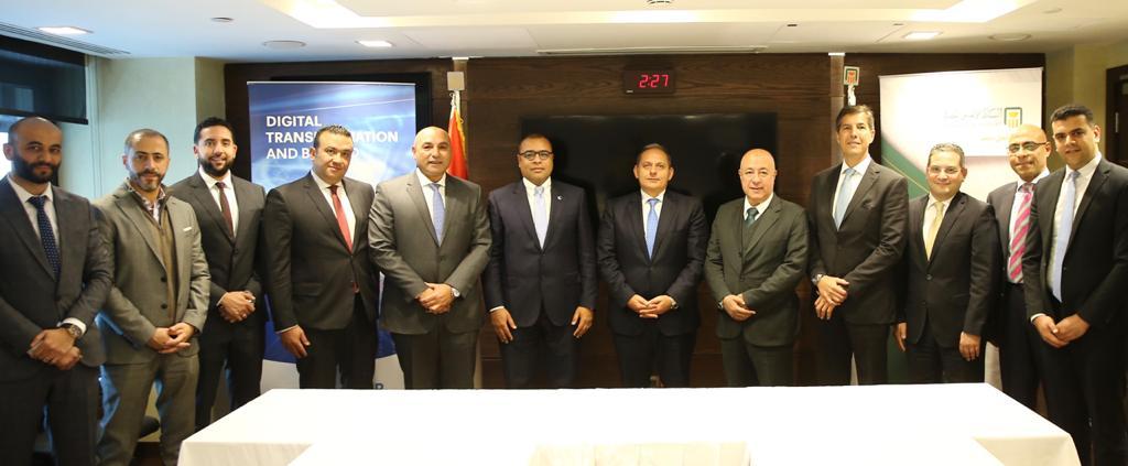 البنك الأهلي المصري يقر تسهيلات ائتمانية لشركة فايبر مصر للاتصالات وتكنولوجيا المعلومات