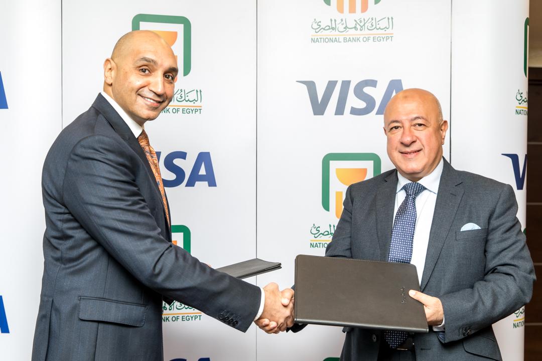 البنك الأهلي المصري وفيزا العالمية يجددان شراكتهما لمدة 5 سنوات جديدة
