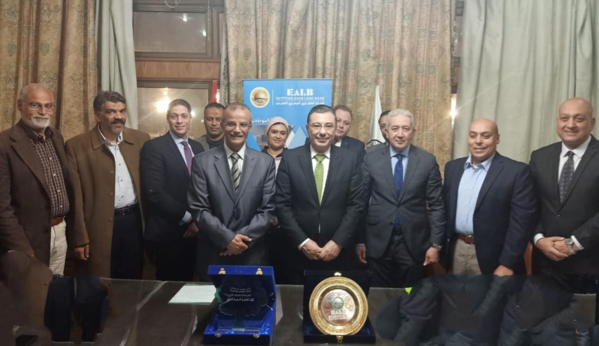 البنك العقارى المصرى العربى يوقع بروتوكول تعاون مع نادى الغابة الرياضى