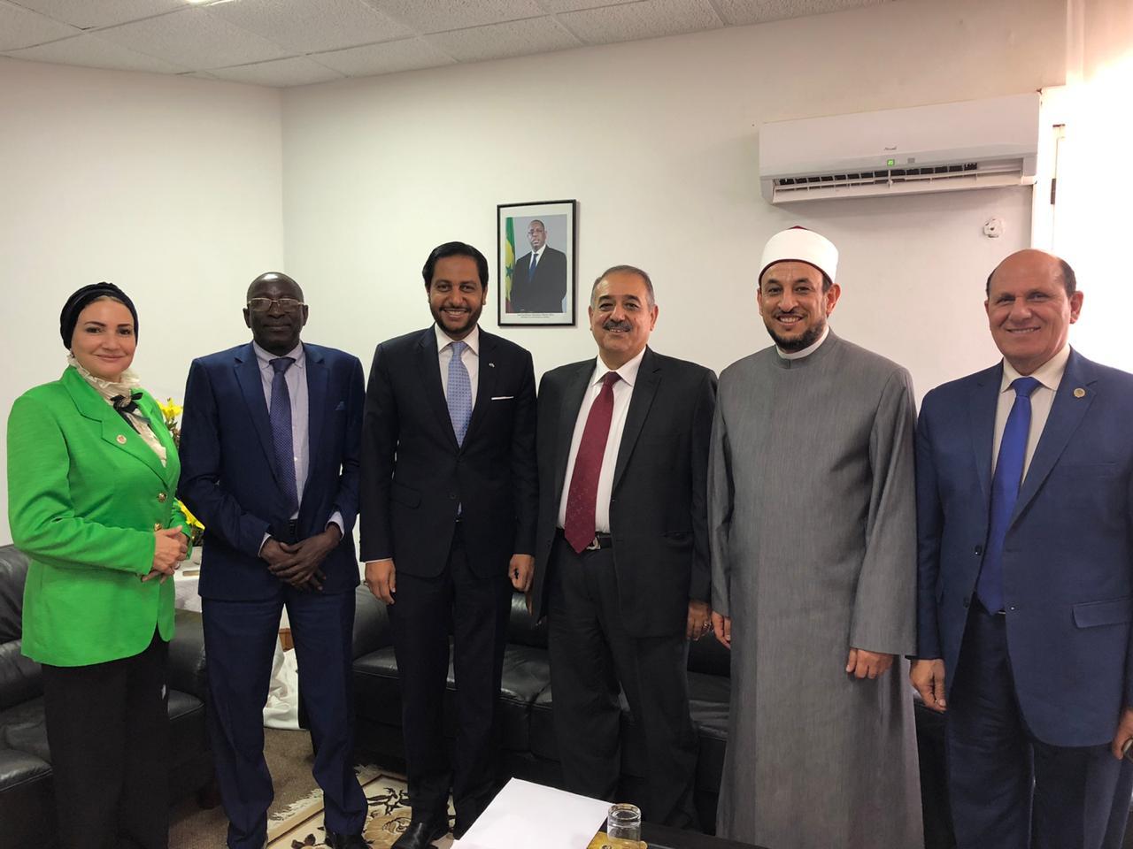 انطلاق فعاليات منتدى داكار لوحدة العالم الاسلامي برعاية الرئيس السنغالي ورئاسة السفير العرابي