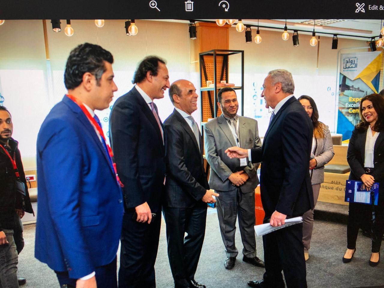 بنك القاهرة يشارك في فاعليات الاحتفال الأول لمبادرة رواد النيل لمرور عام كامل علي إطلاق المبادرة