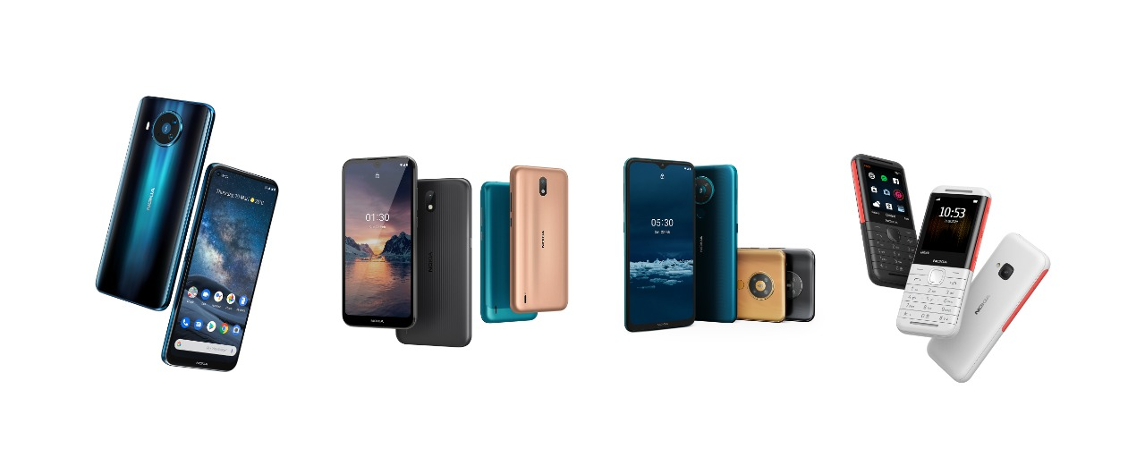 هاتف ذكى جديد بتكنولوجيا للجيل الخامس يتصدر اصدارات هواتف نوكيا  الجديده