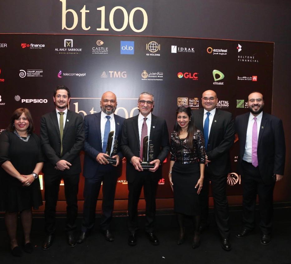 «اتصالات مصر»تفوز بجائزتين من«قمةBT100»للعام الثاني على التوالي
