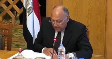 وزير الخارجية: التعنت الإثيوبى بمفاوضات سد النهضة سيضطرنا لاتخاذ خيارات أخرى