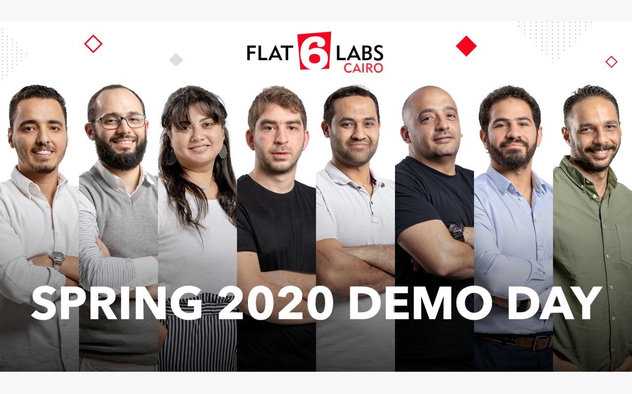 تخرج Flat6Labs القاهرة ثمان شركات ناشئة مبتكرة في يوم العروض الرقمي لربيع 2020