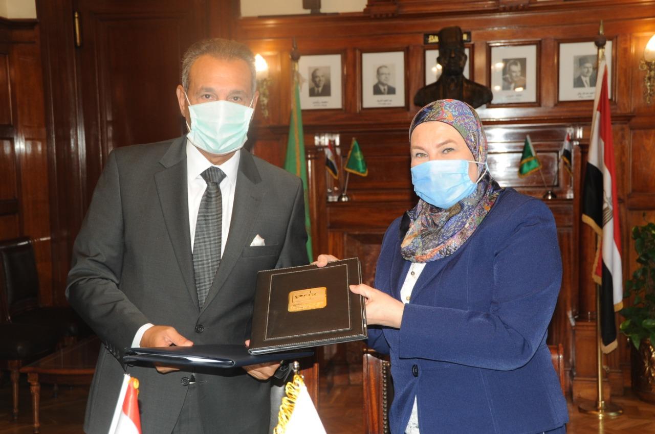 بنك مصر يوقع اتفاقية تعاون مع الشركة المصرية لضمان الصادرات بهدف تأمين حصيلة الصادرات المصرية