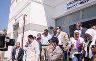 الرئيس التنفيذي للمصرية للاتصالات يتفقد سير العمل بالإسكندرية ويثني على أداء العاملين