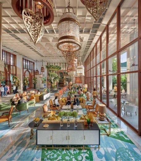 البنك الأهلي المصري يوقع عقد تمويل مع شركة الشريف القابضة لإحياء فندق شبرد القاهرة