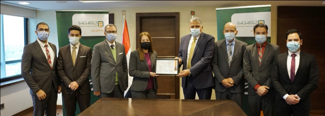 الأهلي المصري يحتفظ للعام الثامن على التوالي بشهادة التوافق مع معاییر متطلبات هيئتي الفيزا والماستر كارد العالمیة PCI DSS