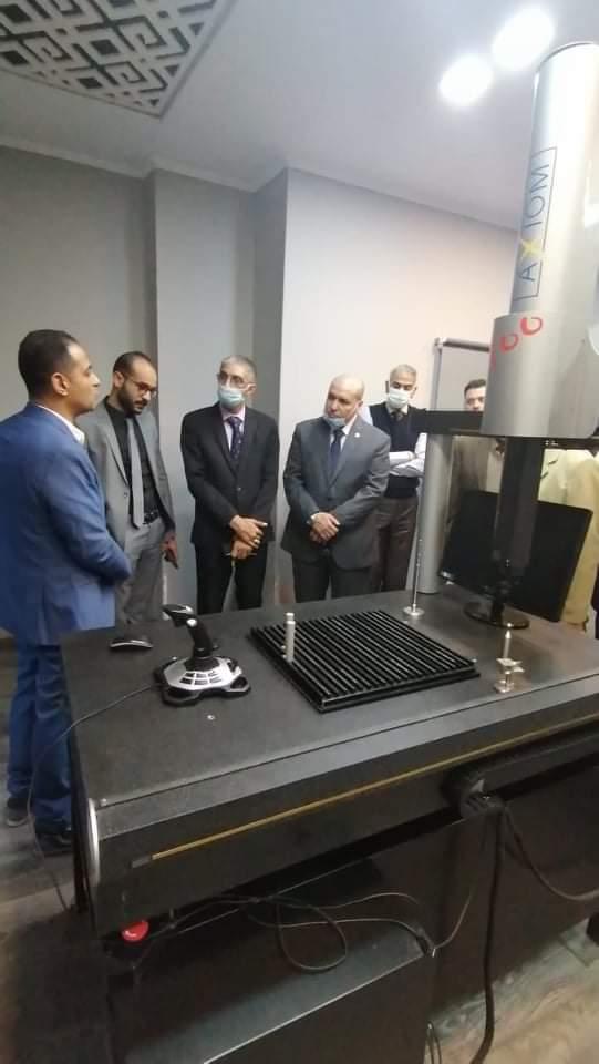 الاتحاد العربي للتطوير والتنمية يبحث مع شركة الصناعات المعدنية الخفيفة صناعة أول