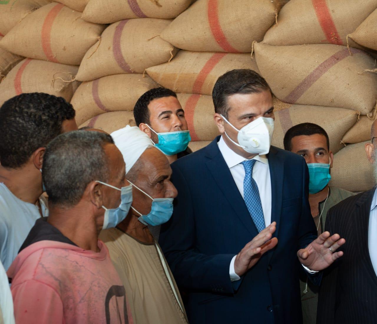 علاء فاروق : توريد 504 ألف طن قمح بشون البنك الزراعي  بقيمة 5. 2 مليار جنيه منذ بدء موسم الحصاد