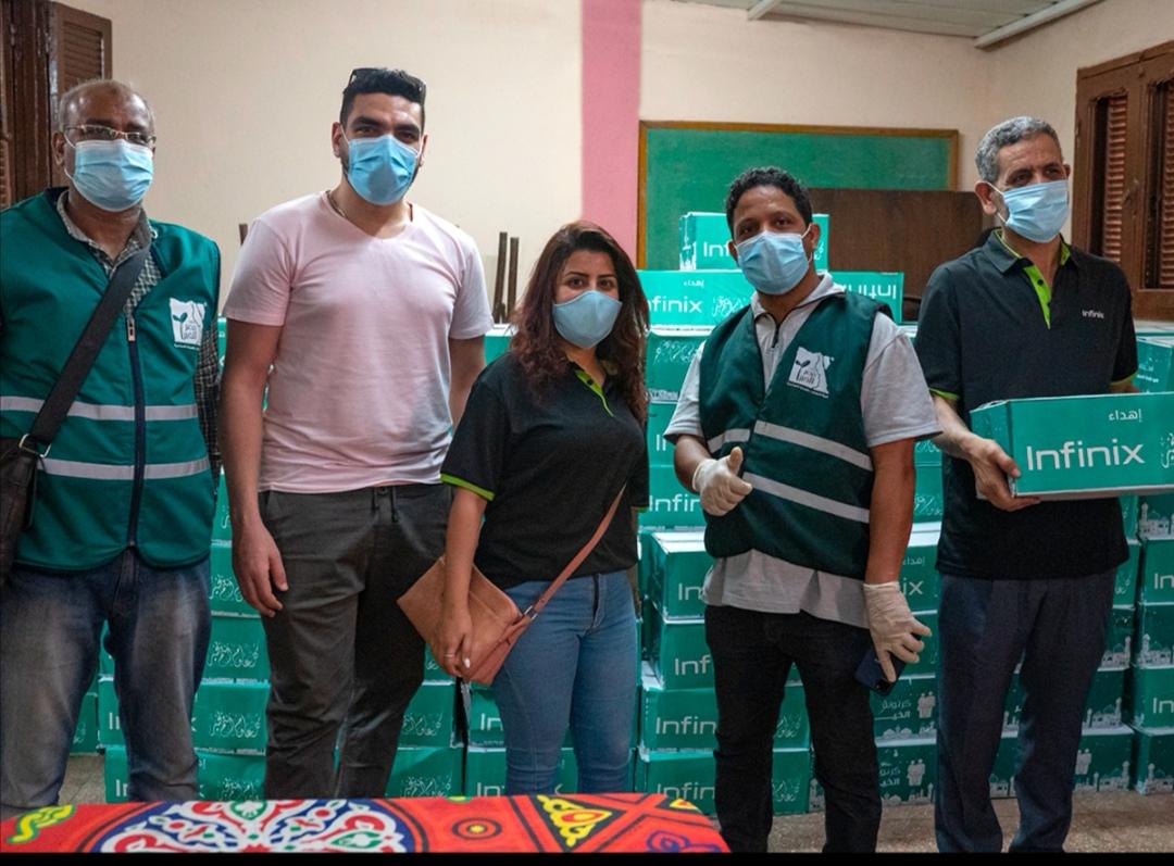 انفينكس تتعاون مع مصر الخير لإطعام 1300 أسرة بالصعيد بالتعاون مع مصر الخير