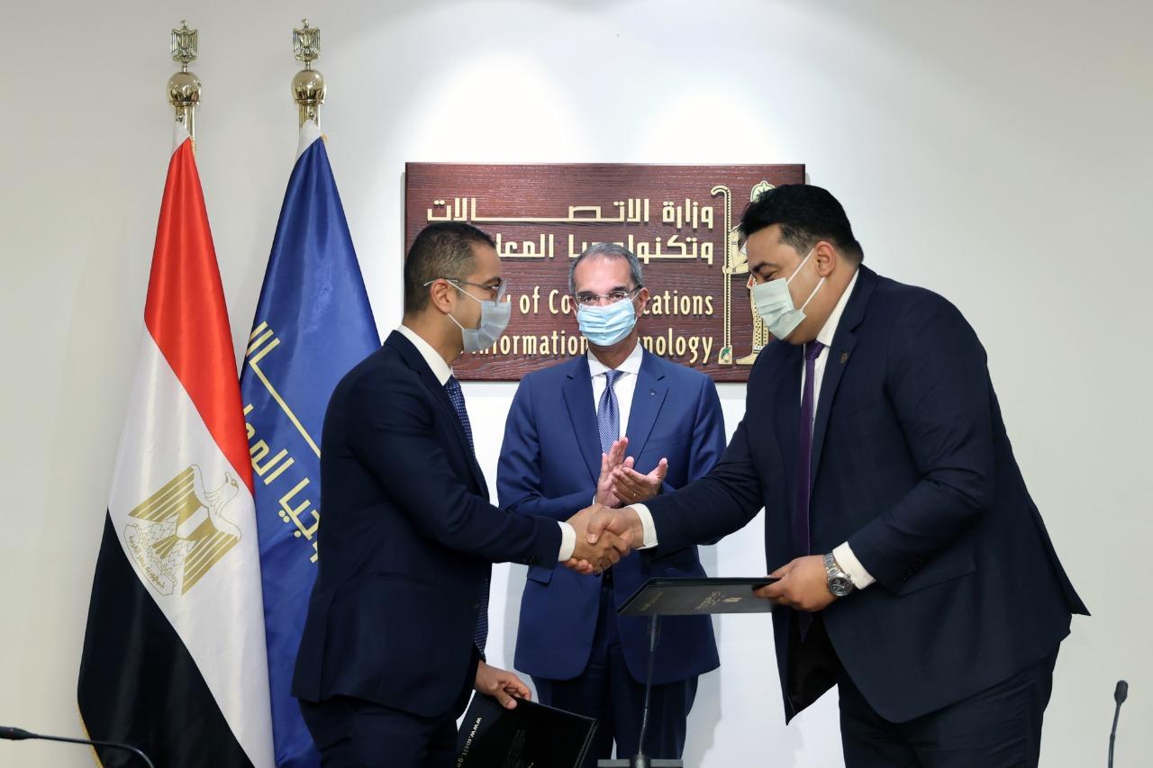 توقيع اتفاقية مساهمين معدلة بين المصرية للاتصالات و فودافون تتضمن توزيعات أرباح استثنائية بنحو 10 مليار جنيه لعام 2021