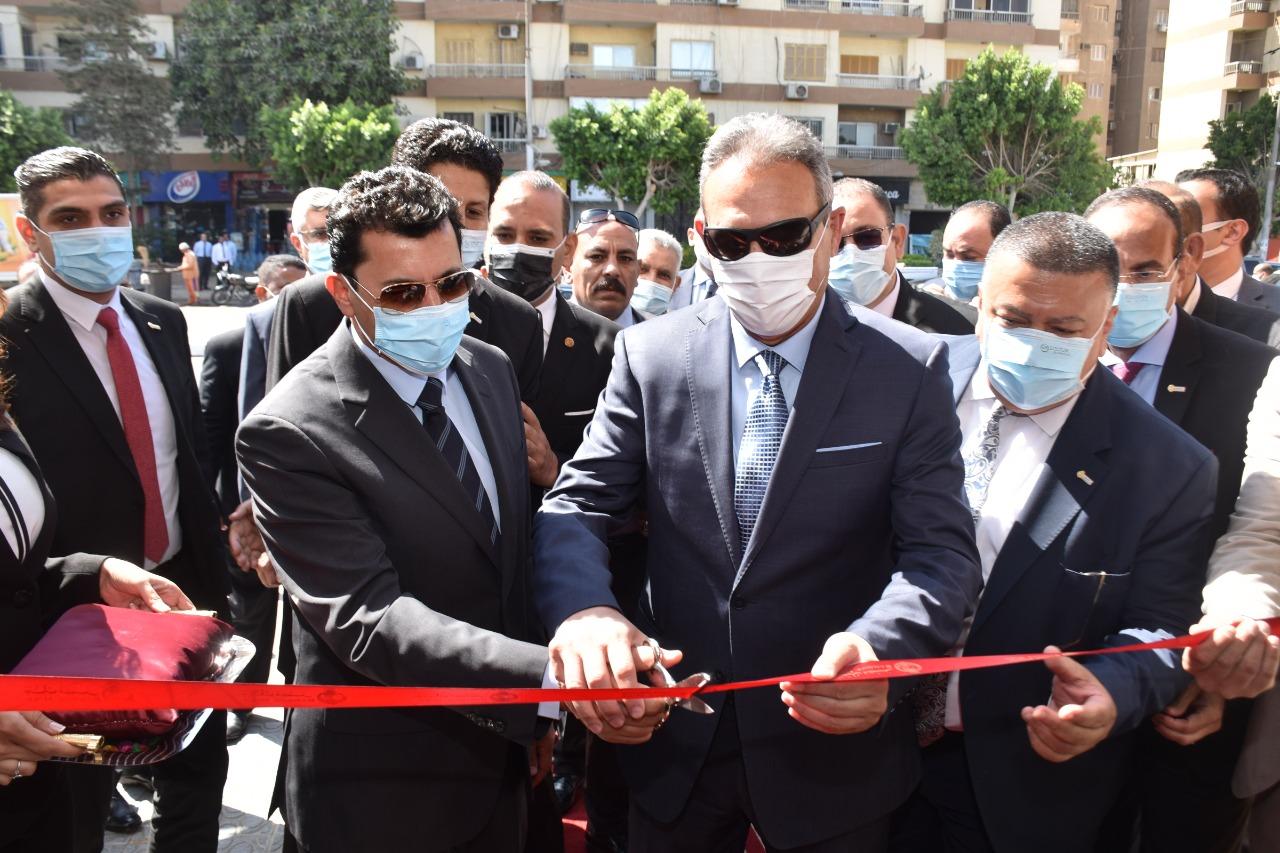 بنك مصر يفتتح فرعاً جديداً بنادي النادي بشيراتون