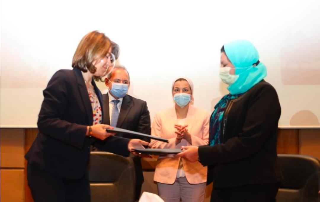 البنك الأهلي المصري يوقع بروتوكول لدعم حملة ايكوايجيبت للسياحة البيئية