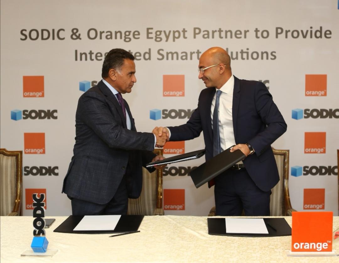 اورنچ مصر توقع اتفاقية تعاون مع سوديك لتقديم منظومة متكاملة للحلول الذكية بكافة مشاريعها