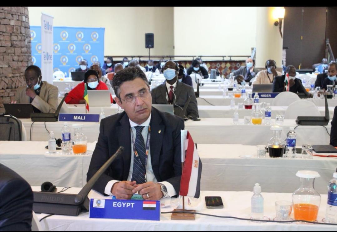 البريد المصري يشارك في اجتماعات مجلس إدارة إتحاد البريد الأفريقي الشامل بزيمبابوي