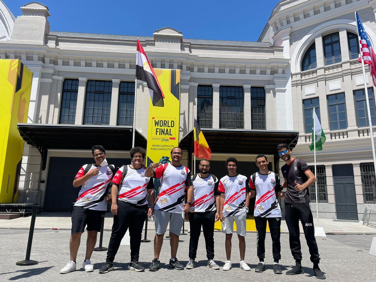 الفريق المصرى يصعد للمربع الذهبى لكاس العالم فى لعبة ( فالورانت) فى باسبانيا